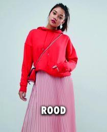 Rode Hoodie