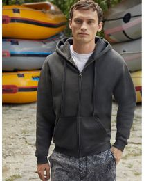 Premium Hoody Sweat-Jacket, heren.