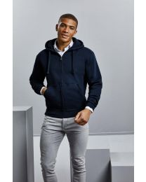 Authentic Full Zip Hooded Sweatshirt, heren.